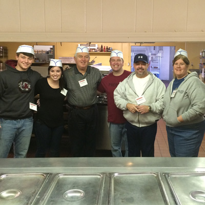 Falcon Employee's Serve at Charlotte Rescue Mission