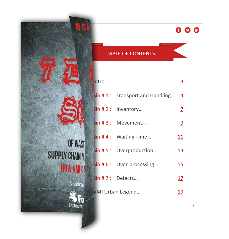 ebook 7 Deadly Sins of Supply Chain Management
