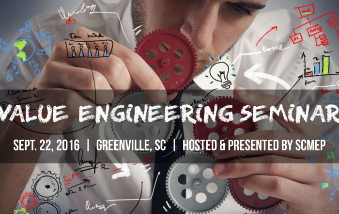 Value Engineering Seminar – Hosted by SCMEP