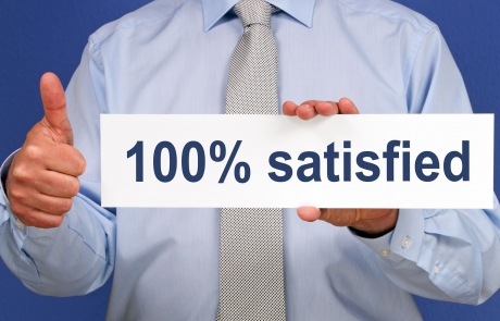 100% Overall Satisfaction