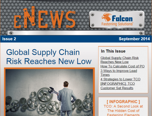 Issue 2 eNews: Global Supply Chain Risk Reaches New Low