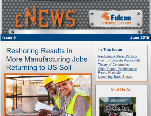 Issue 5: Reshoring Results in Mfg Jobs Returning to US Soil