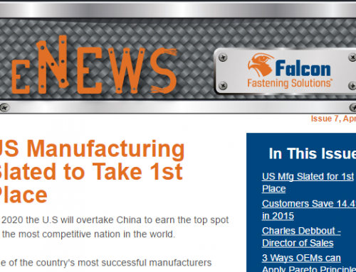 Issue 7: US Manufacturing Slated for First Place